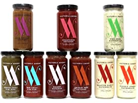 Victoria Amory Condiment Collection (9)