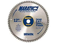 "Irwin 12"" Marathon Carbide Saw Blade"