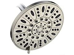 AquaDance 7'' Shower Head, Brushed Nickel