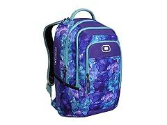 OGIO Operative Laptop Backpack - Purple Watercolor