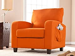 Kellyton Arm Chair - Orange