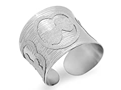 Stainless Steel Adjustable Cuff Bangle