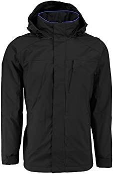 IZOD Men's Midweight Polar Fleece Lined Jacket