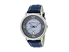 Morphic M49 Series Mens Swiss Leather Watch