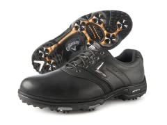XTT LT Saddle Golf Shoes, Black