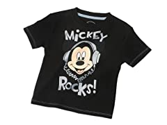 Mickey Mouse Tee - Black (2T-4T)