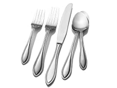 Pfaltzgraff 45pc 18/0 Flatware Set