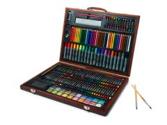 173-Piece Art Set with Wooden Case