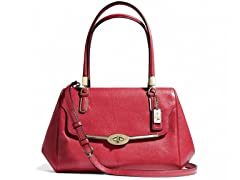 Madison Madeline Leather East/West Satchel