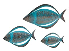 Fish Wall Art Set of 3