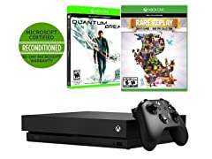 Microsoft XBox One X Console Bundle w/ 2 Games