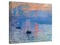 Sunrise by Claude Monet (3 Sizes)