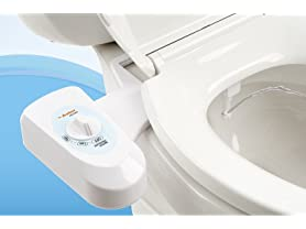 Astor Bidet Fresh Water Spray Non-Electric Bidet Seat Attachment