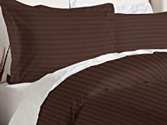Duvet Cover Set-Chocolate-2 Sizes