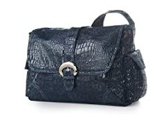 Kalencom Buckle Bag - Navy Crocodile