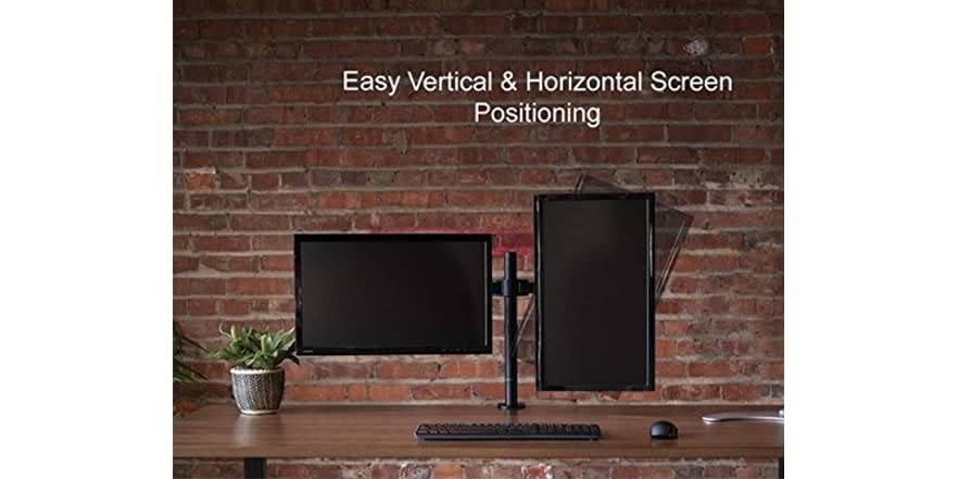 Vivo Dual Monitor Desk Mount Stand