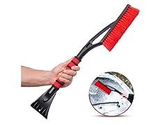 2 in 1 - Ice Scraper & Snow Remover Brush