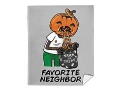 My Favorite Neighbor Mink Fleece Blanket