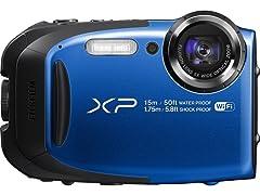 FinePix XP80 16MP Waterproof Digital Camera 8GB