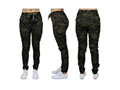 GBH Loose-Fit Cotton Stretch Twill Cargo Jogger
