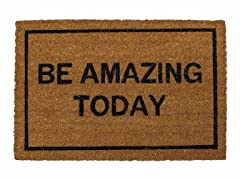 Be Amazing Today Mat