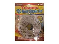 Trisonic Telephone Extension Cord