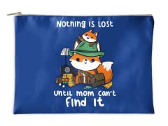 """Nothing is Lost"" Accessory Pouch"