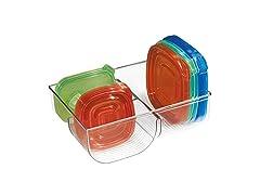 mDesign Storage Container Lid Holder