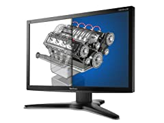 "27"" 1080p AMVA LED Monitor w/ DP & 4 USB"