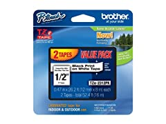 Brother 1/2-inch Laminated P-Touch Tape