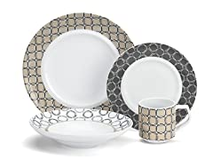 Cuisinart 16 Pc. Chalais Porcelain Set