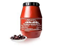 Mani Imported Kalamata Pitted Olives