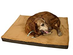 Pet Bed - Mocha & Brown