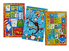 Dr.Seuss 3-Pack Floor Puzzles-2 Choices!