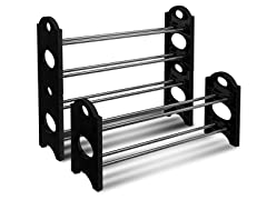 Sorbus Shoe Rack Organizer- 4 or 8 Shelf