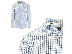 Men's Slim Fit Pocket Dress Shirts