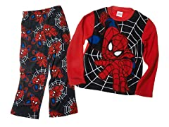 Spiderman 2 Pc Fleece Set (8-10)