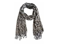 2-Pack Classic Animal Print Scarves