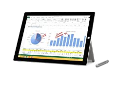 "Microsoft Surface Pro 3 12"" FHD Tablet"