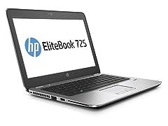 """HP EliteBook 725-G3 12.5"""" 128GB Laptop"""