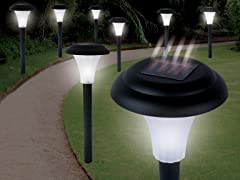 Set of 8 Solar Accent Lights