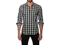 Jared Lang Dress Shirt, Black/Grey