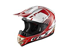 GLX  XP10-GR-S GLX Adult Off-Road Helmet