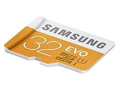Samsung EVO Class10 UHS-1 Micro SDHC Cards