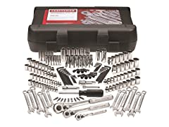 "168-Piece 1/4"", 3/8"", & 1/2"" Mechanic's Tool Set"