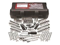 "168-Piece 1/4"", 3/8"", & 1/2"" Mechanic's Tool Set"
