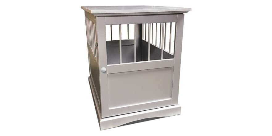 pet crate end table home kitchen