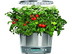AeroGarden Harvest Elite 360, Stainless