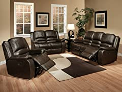 Abbyson Living Ashlyn 3-PC Reclining Set