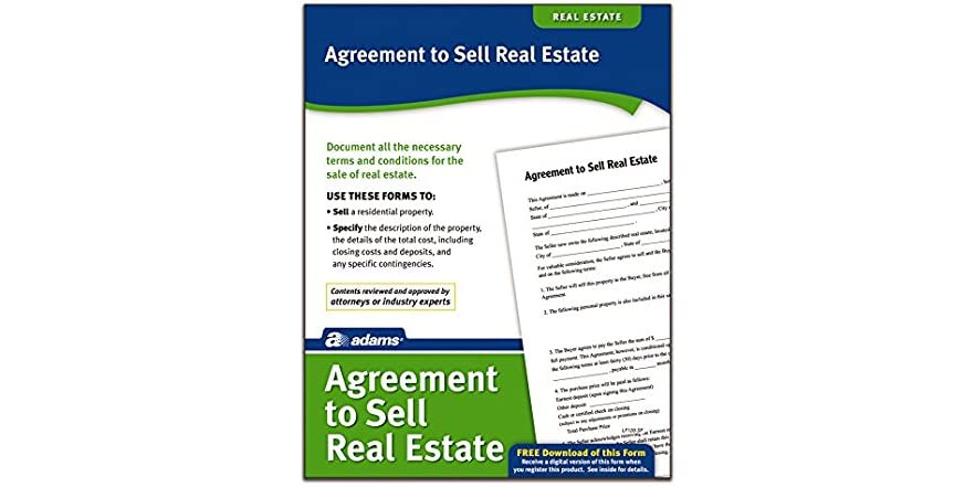 Adams Agreement To Sell Real Estate Form